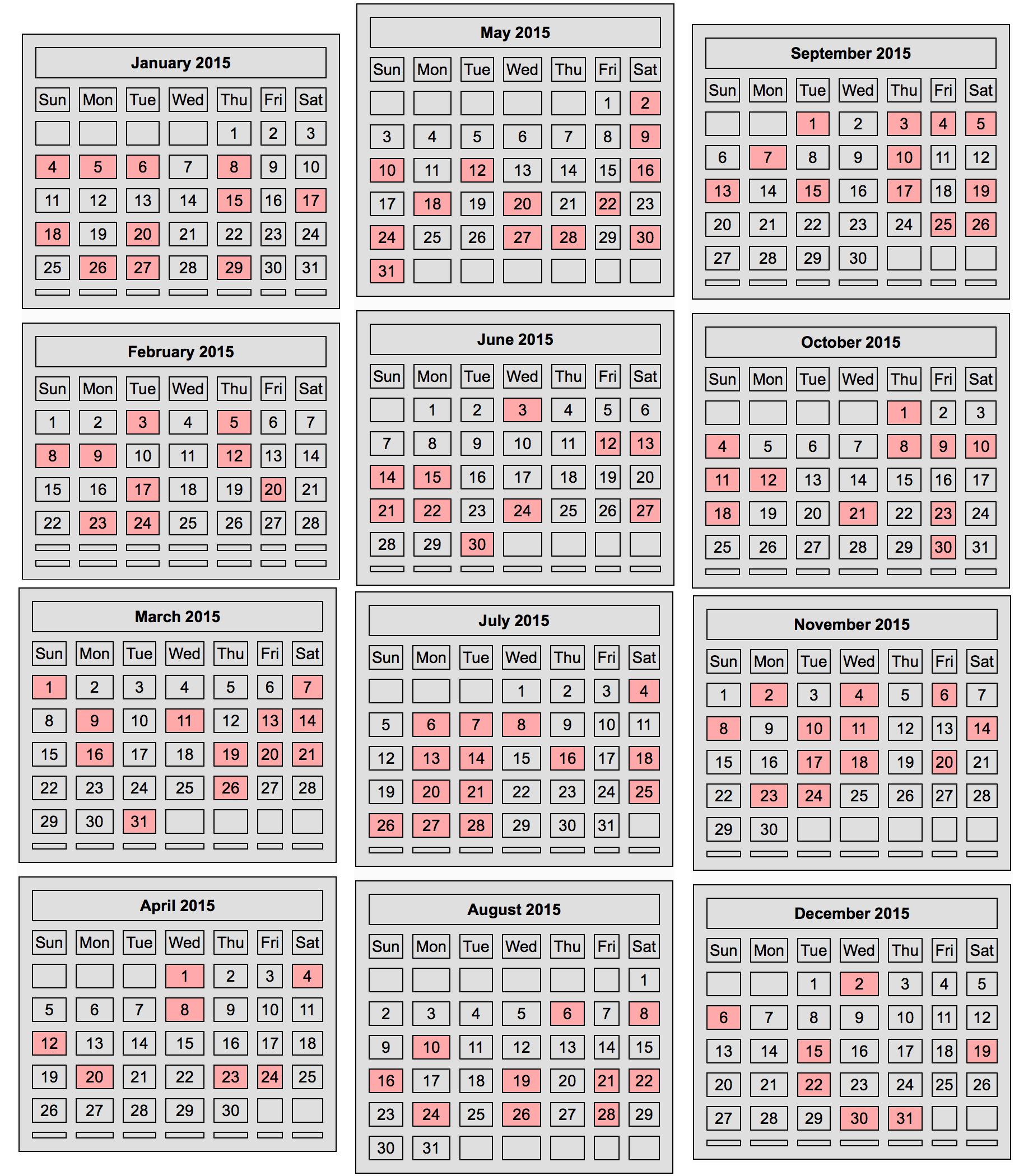 Chinese Calendar 2015 | Search Results | Calendar 2015