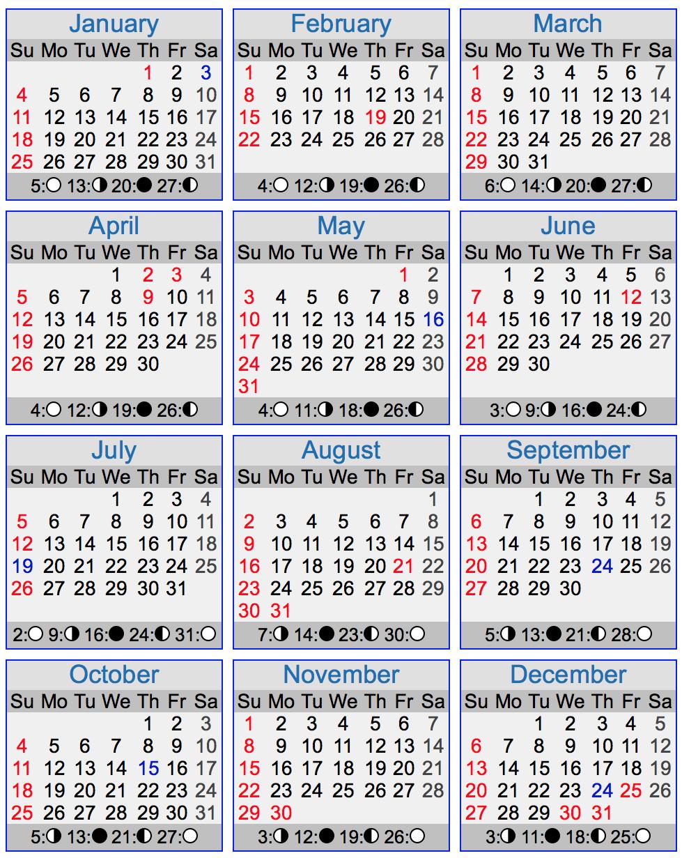 2014 Full Moon Calendar Printable | Calendar Template 2016